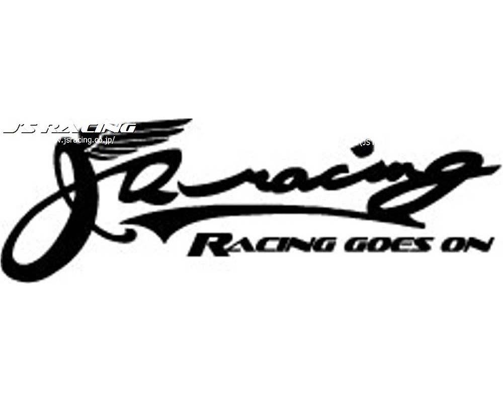 Js Racing Vintage Logo Small Sticker