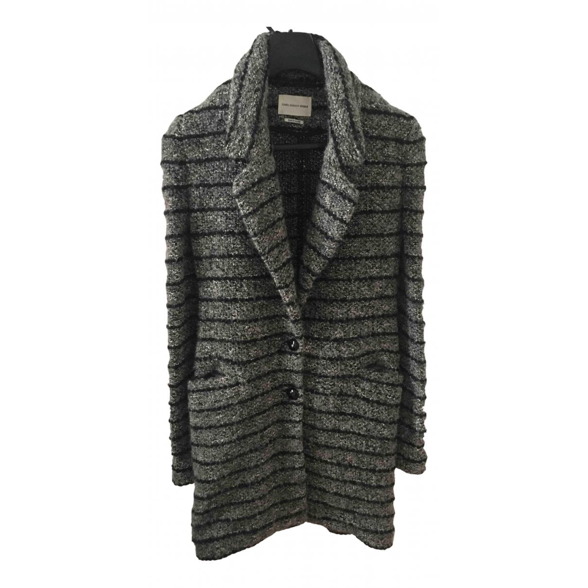 Isabel Marant Etoile N Grey Wool coat for Women 36 FR