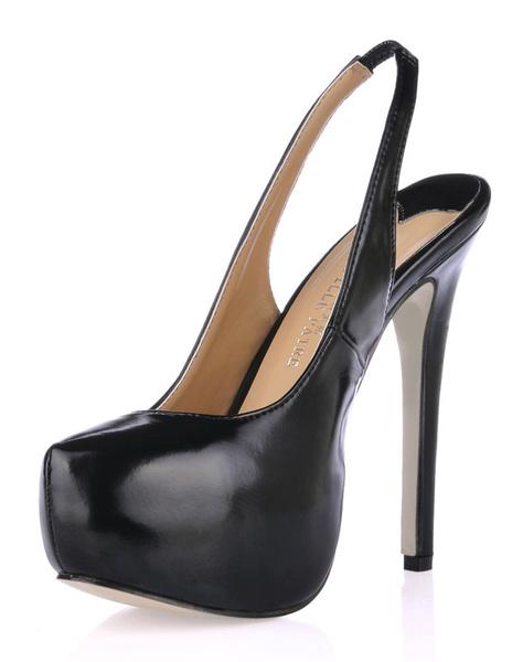 Milanoo Zapatos de PU de moda