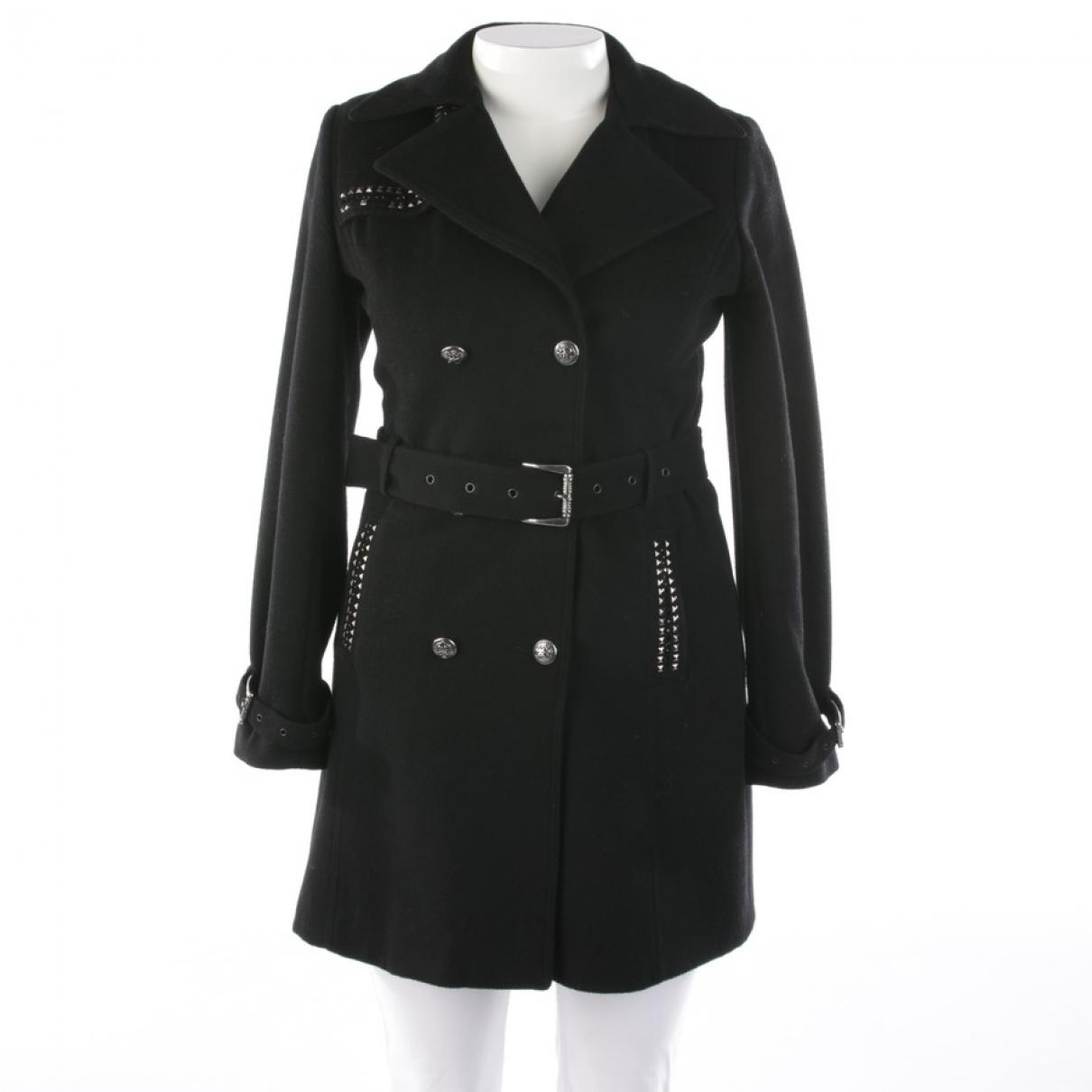 Faith Connexion - Manteau   pour femme en laine - noir