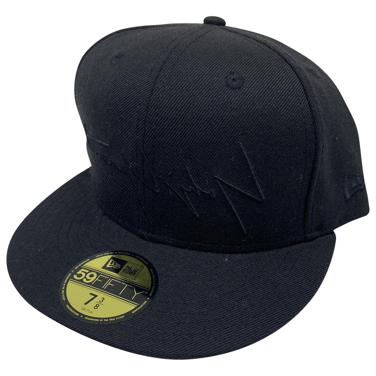 Yohji Yamamoto \N Black Cotton hat & pull on hat for Men 59 cm