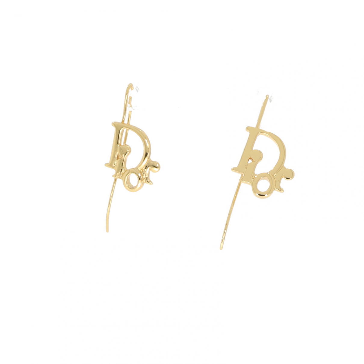 Christian Dior \N OhrRing in  Gold Metall