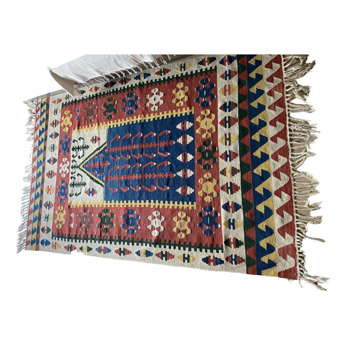 Kilim \N Accessoires und Dekoration in  Bunt Wolle