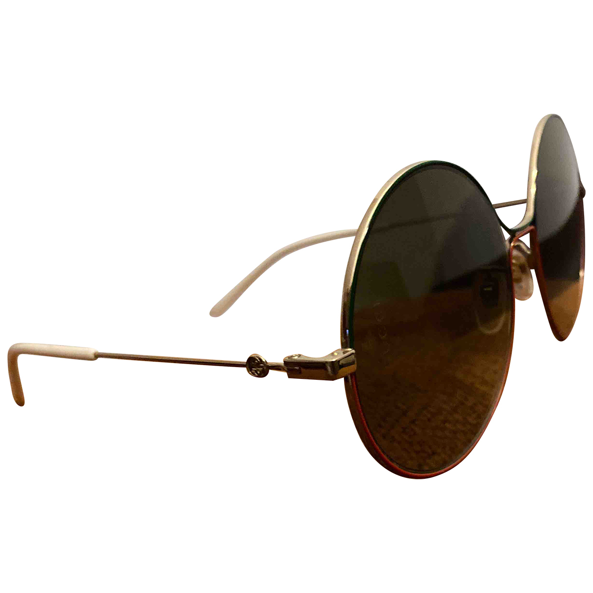 Gucci \N Gold Metal Sunglasses for Women \N