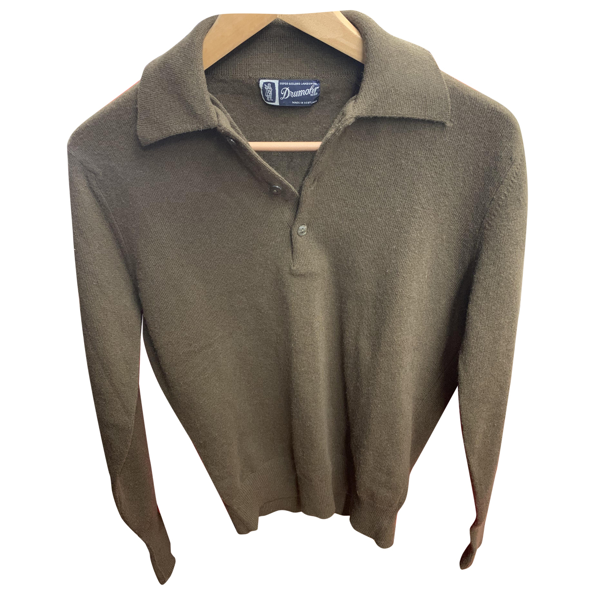 Drumohr - Pull   pour femme en laine - marron