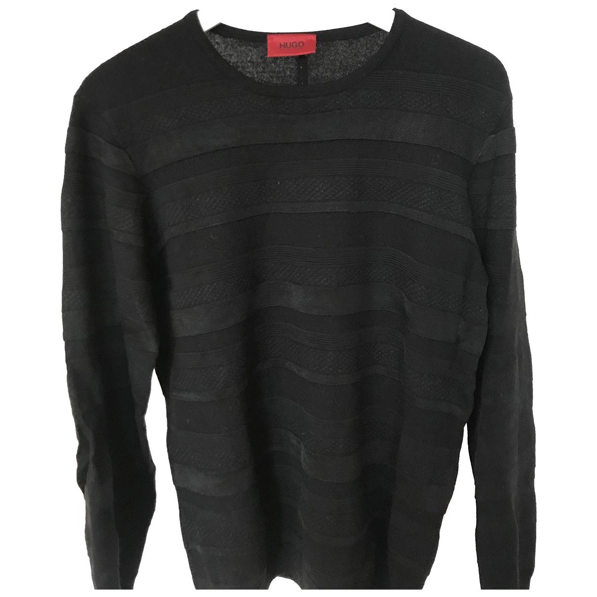 Hugo Boss \N Black Wool Knitwear & Sweatshirts for Men XL International