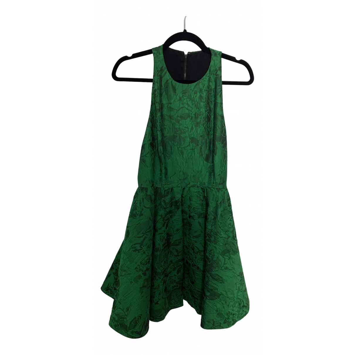 Alice & Olivia \N Kleid in  Gruen Polyester