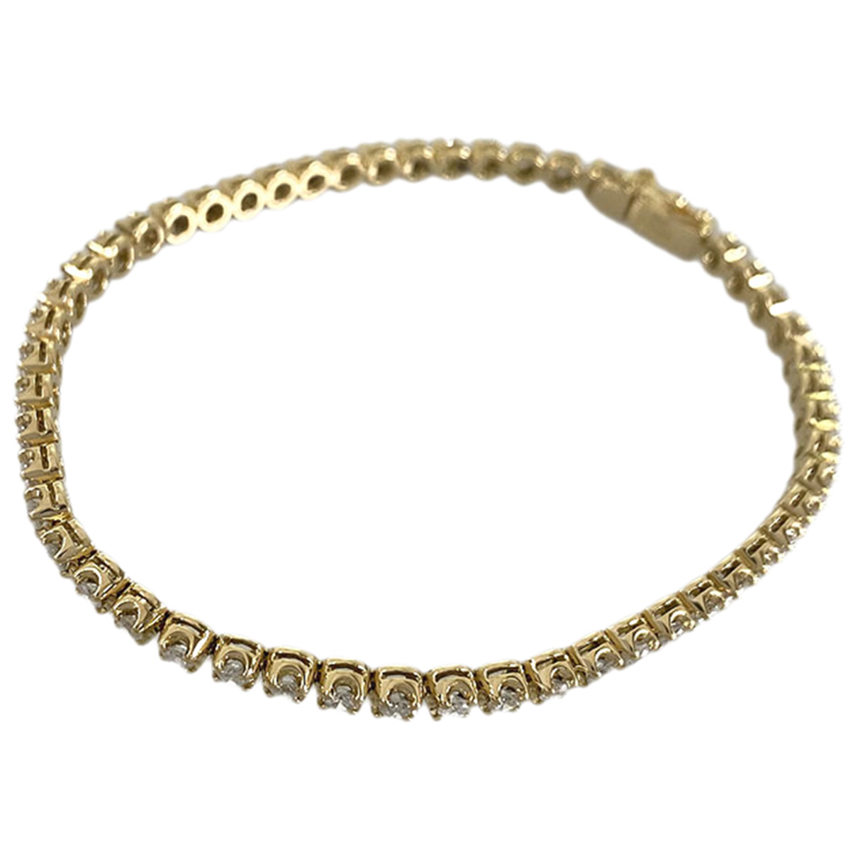 Non Signe / Unsigned \N Armband in  Gold Gelbgold