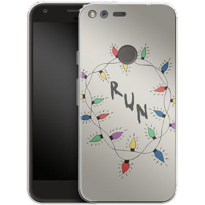 Google Pixel Silikon Handyhuelle - RUN von caseable Designs