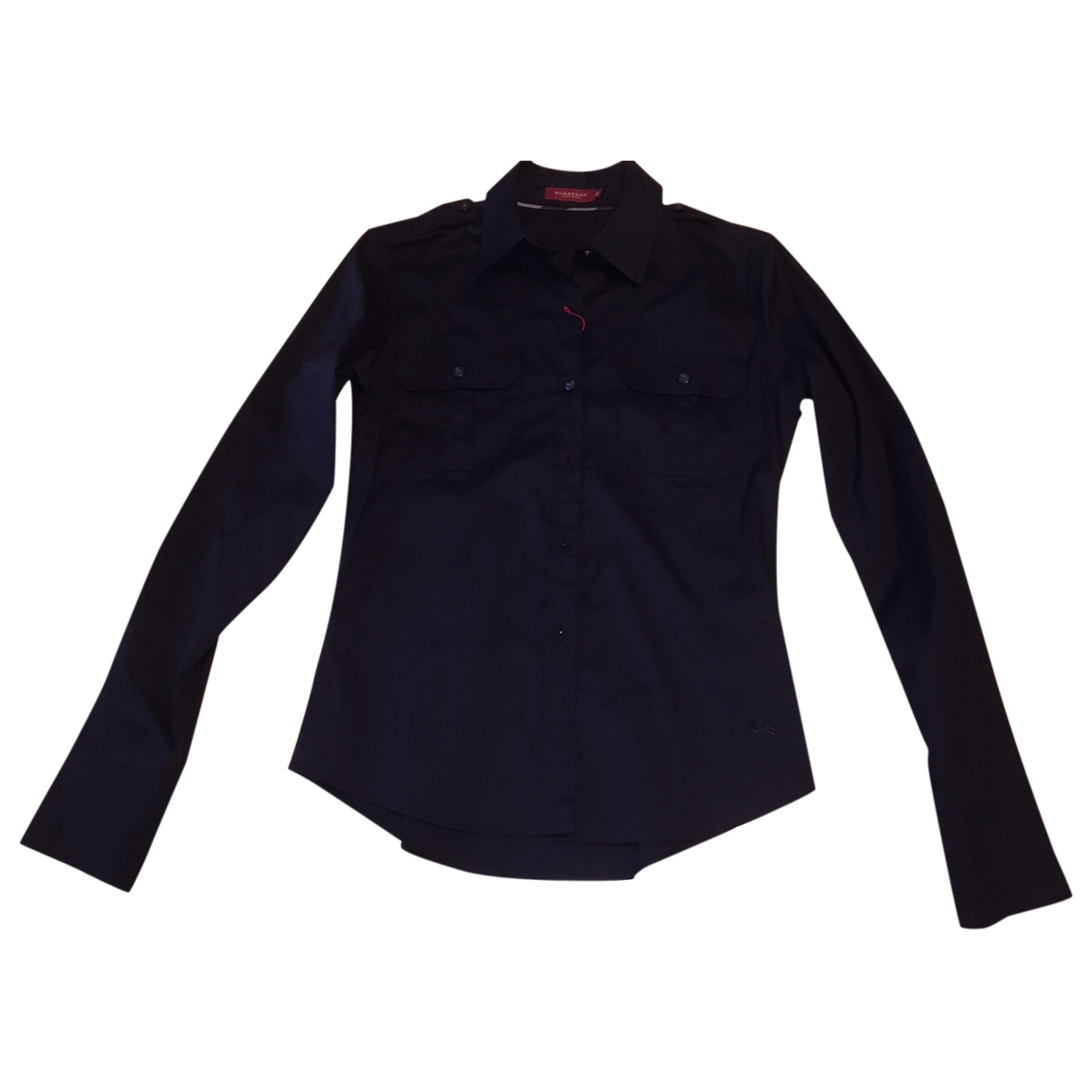Burberry \N Black Cotton  top for Women 38 IT