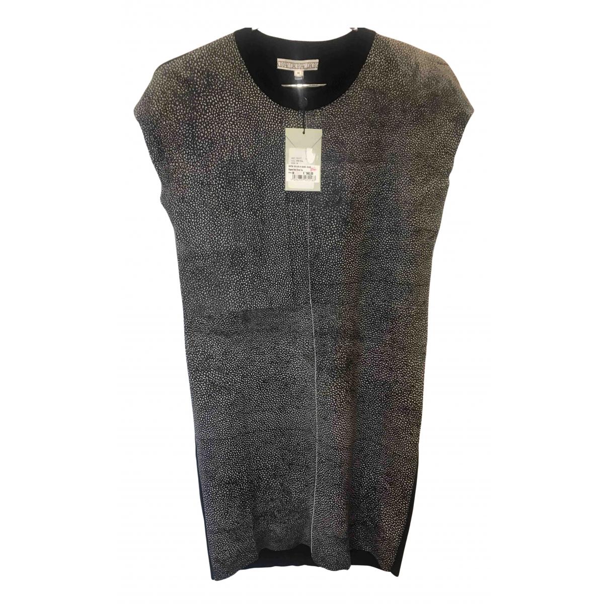 Dagmar \N Kleid in  Schwarz Leder