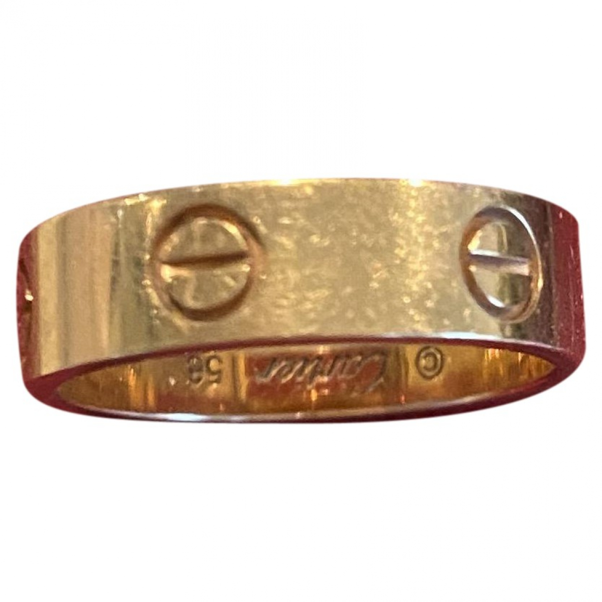 Cartier Love Gold Yellow gold ring for Women 54 EU