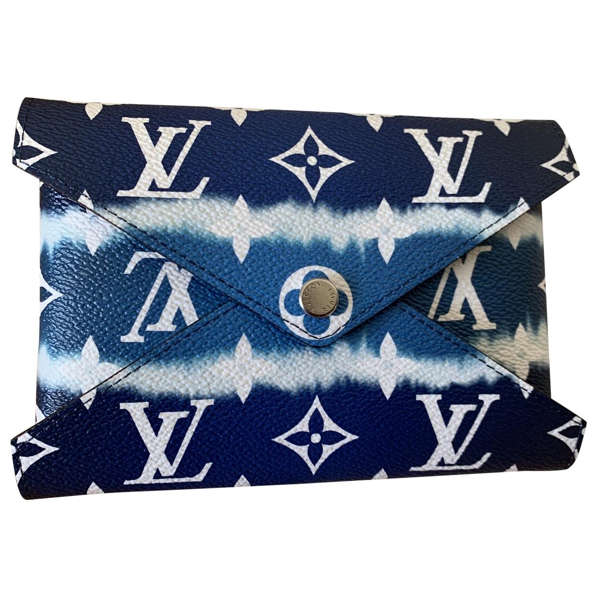 Louis Vuitton - Pochette Kirigami pour femme en toile - bleu