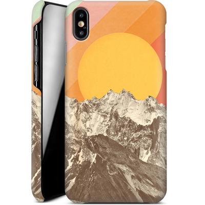 Apple iPhone XS Max Smartphone Huelle - Mountainscape von Florent Bodart