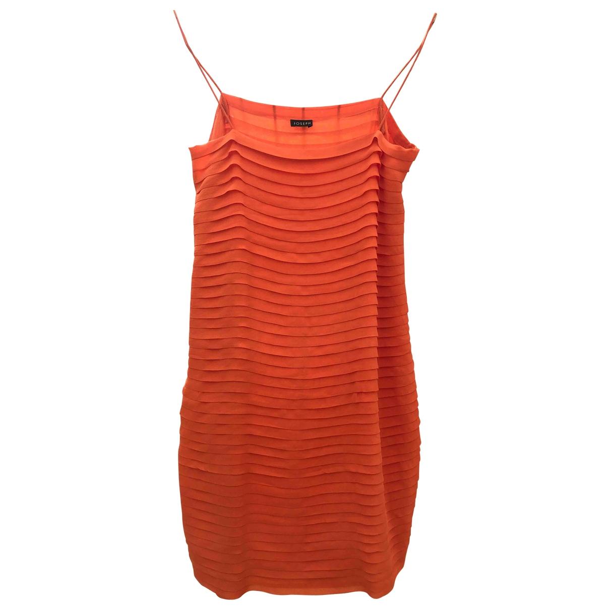 Joseph \N Orange Silk dress for Women XS International