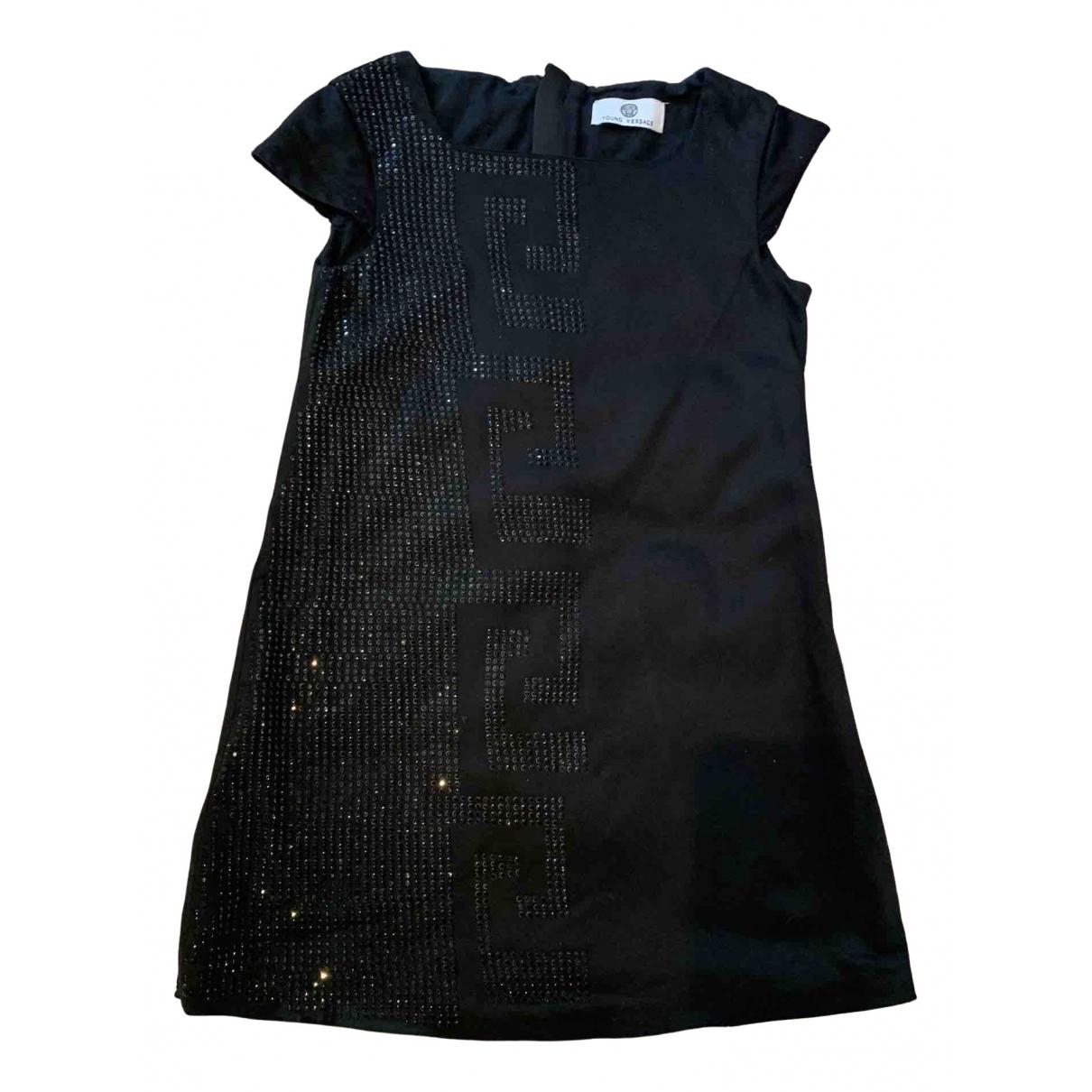 Versace - Robe    pour enfant en coton - noir