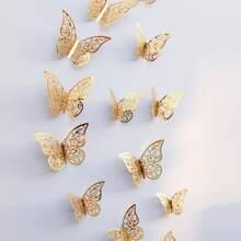 12pcs DIY Butterfly Wall Sticker