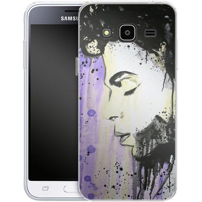 Samsung Galaxy J3 (2016) Silikon Handyhuelle - Prince von Federica Masini