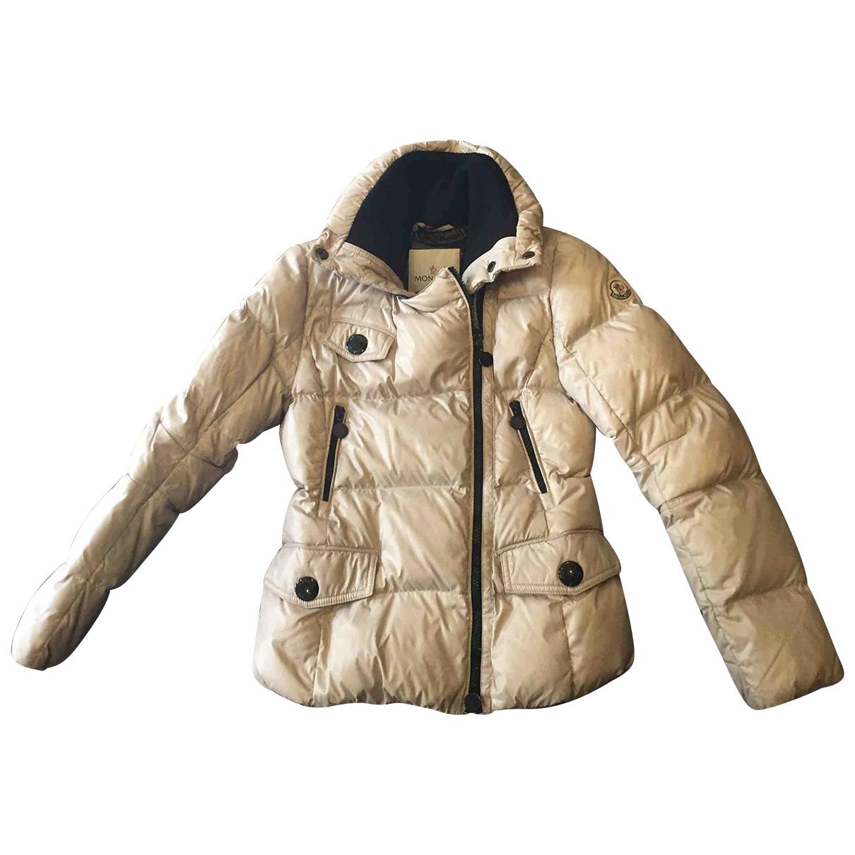 Moncler - Blousons.Manteaux   pour enfant - beige