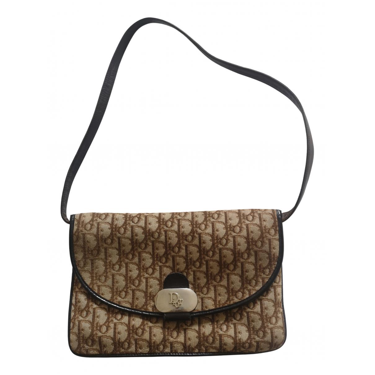 Dior DiorAddict Brown Cloth handbag for Women \N