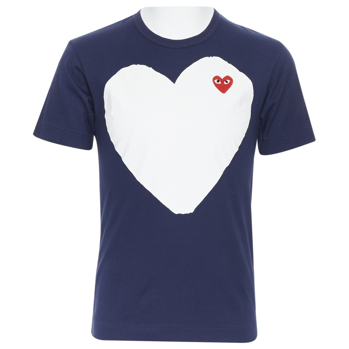 Comme Des Garcons \N Navy Cotton T-shirts for Men S International
