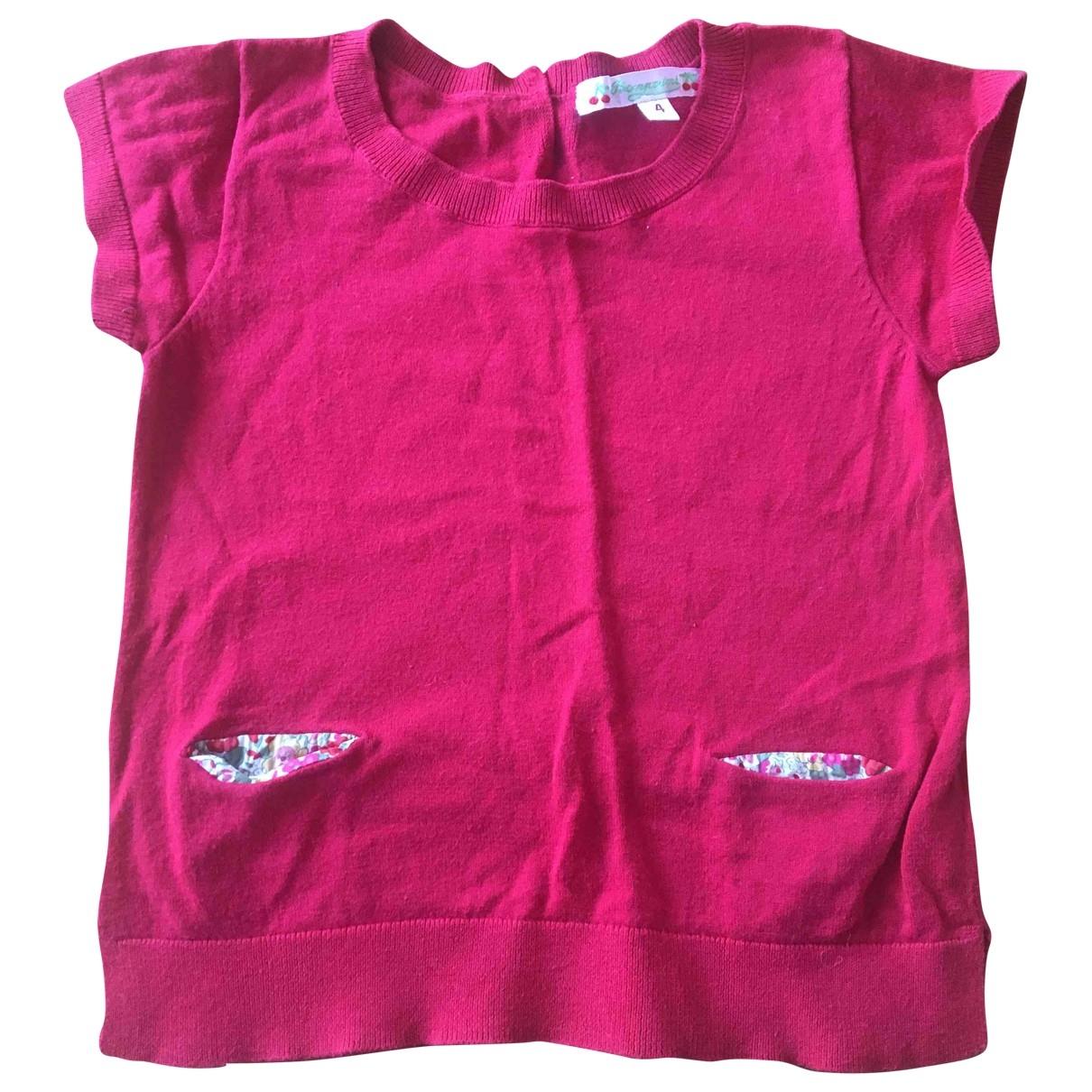 Bonpoint - Top   pour enfant en coton - rouge