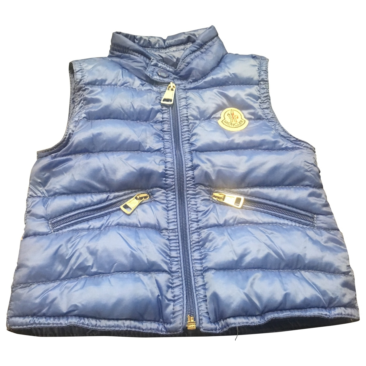 Moncler Sleeveless Blue jacket & coat for Kids 3 months - up to 60cm FR