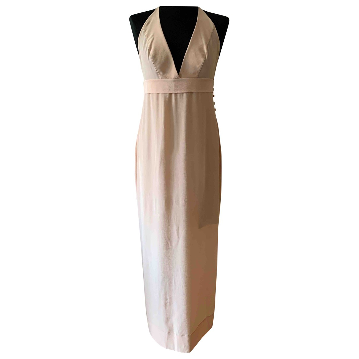 La Perla \N Kleid in  Beige Seide