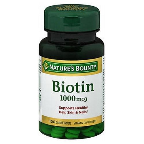 Nature's Bounty Biotin 100 tabs by Nature's Bounty