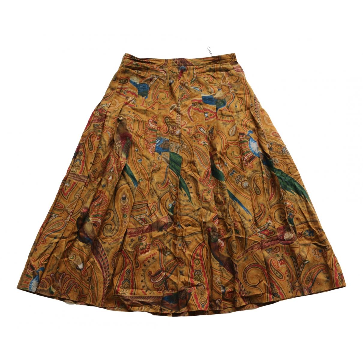 - Jupe Hippie Chic pour femme en laine - multicolore