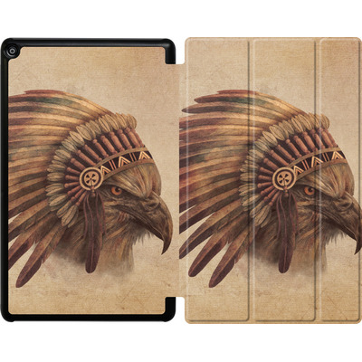 Amazon Fire HD 10 (2018) Tablet Smart Case - Eagle Chief von Terry Fan