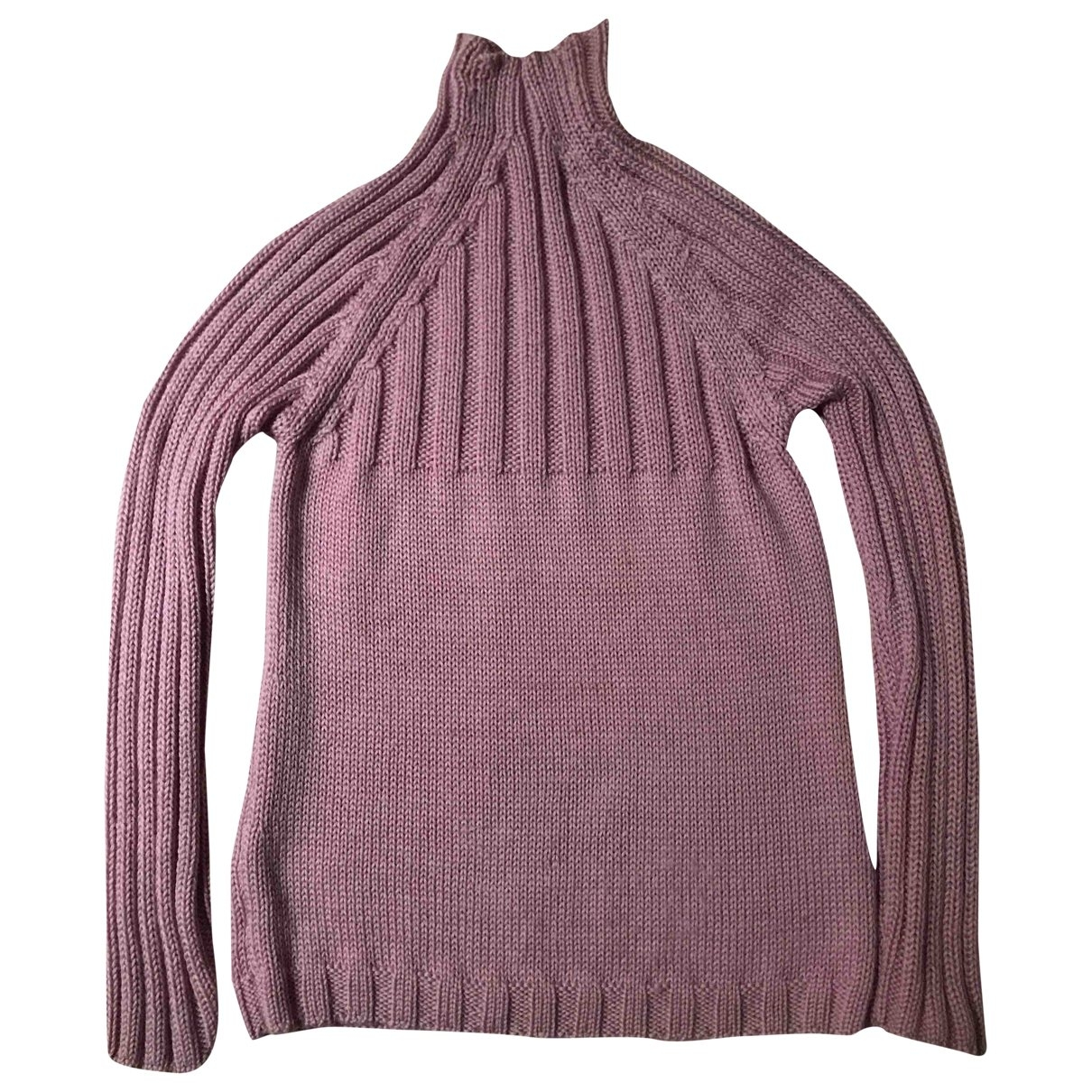 Max & Co \N Pink Wool Knitwear for Women M International