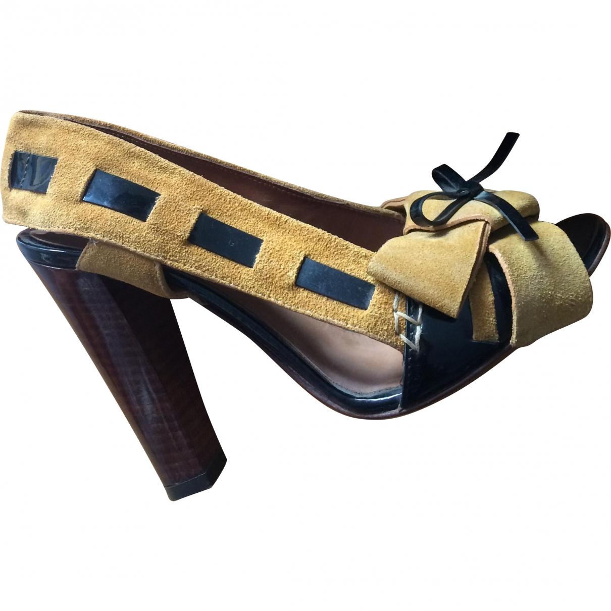 Dolce & Gabbana \N Suede Heels for Women 37 EU