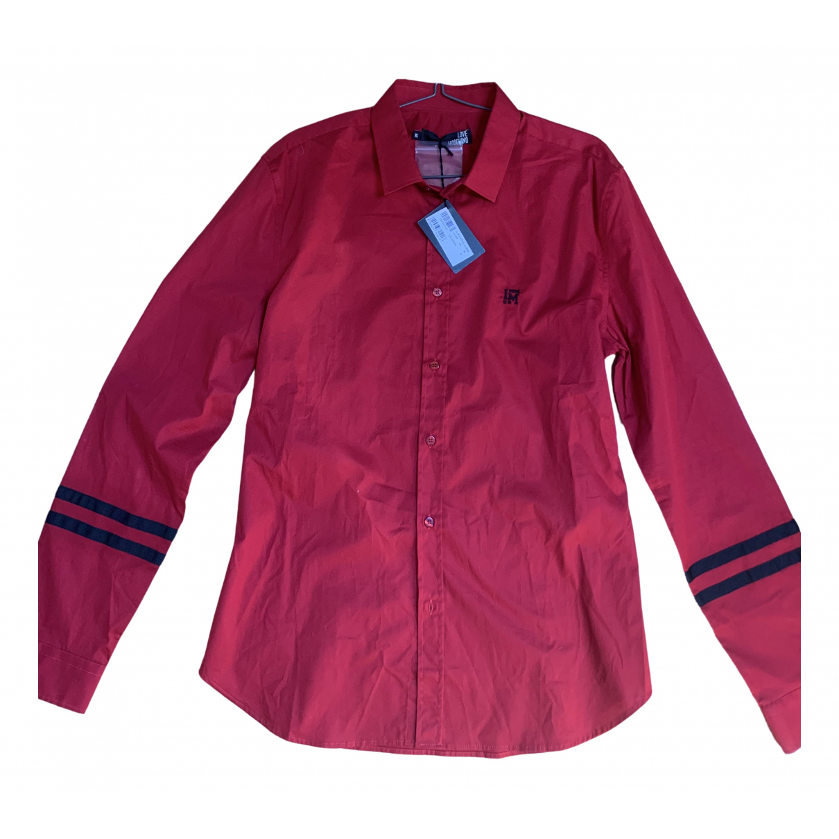 Moschino Love \N Red Cotton Shirts for Men XL International