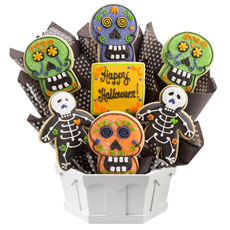 Sugar Skulls and Skeletons | Day of the Dead Cookies