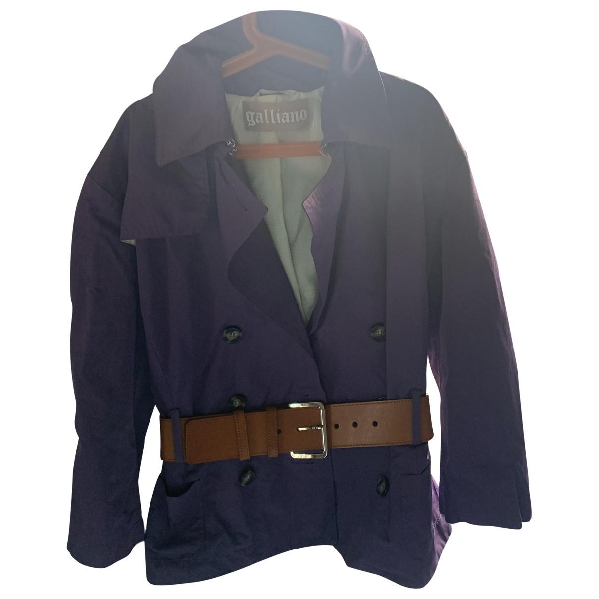 Galliano - Manteau   pour femme - violet
