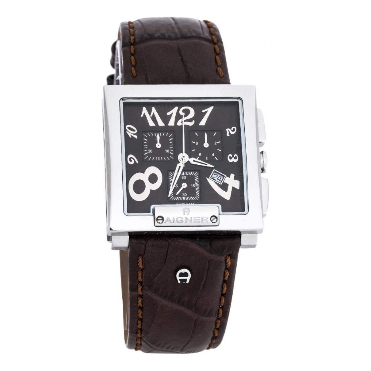 Aigner N Brown Steel watch for Men N
