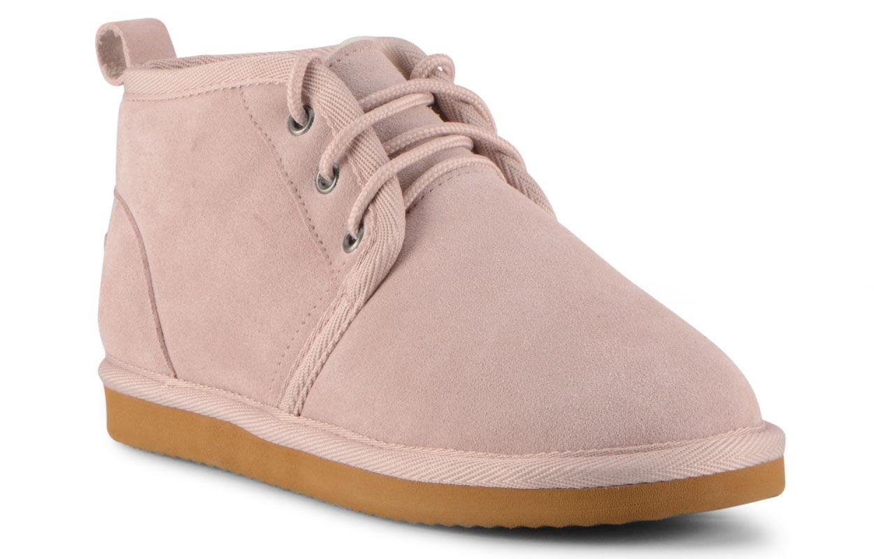 Women's Sequoia Slipper-Shoe (Choose Your Color: SOFT PINK/CREAM/GUM, Choose Your Size: 6.0)