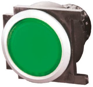 EAO , Modular Switch, Green, Panel Mount, IP65, 3 A @ 250 V ac