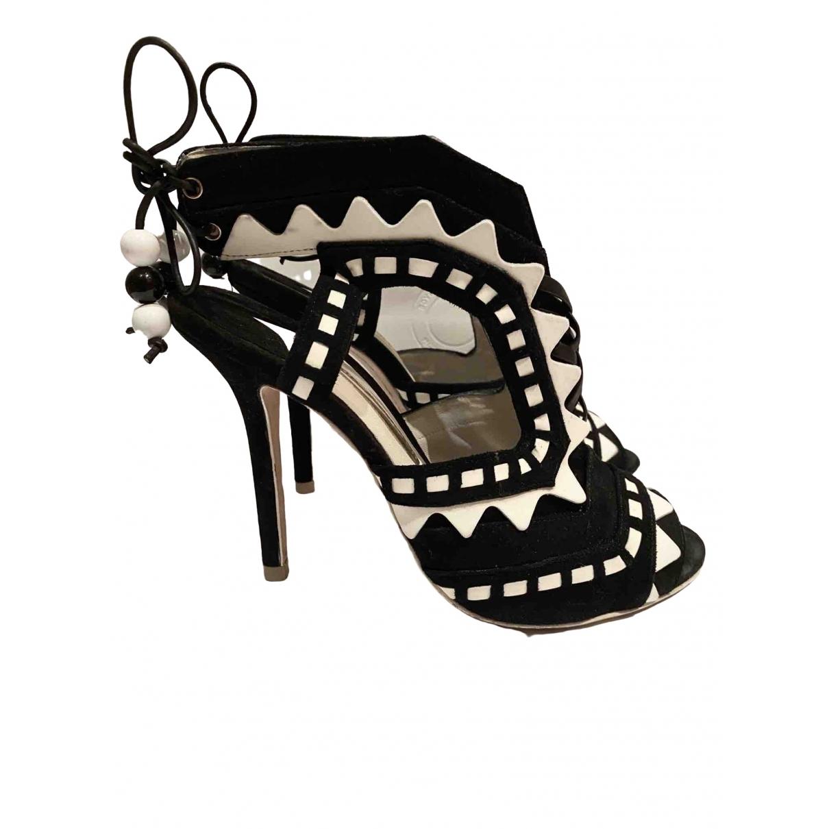 Sophia Webster - Sandales   pour femme en cuir - noir