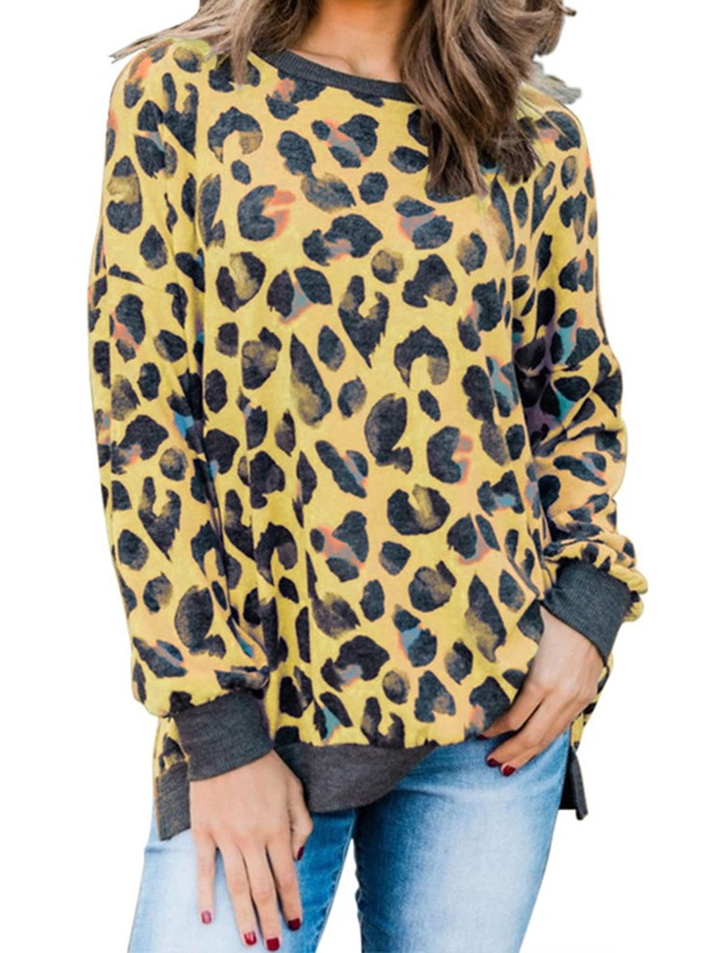Ericdress Regular Print Long Sleeve Fall Women's Hoodie