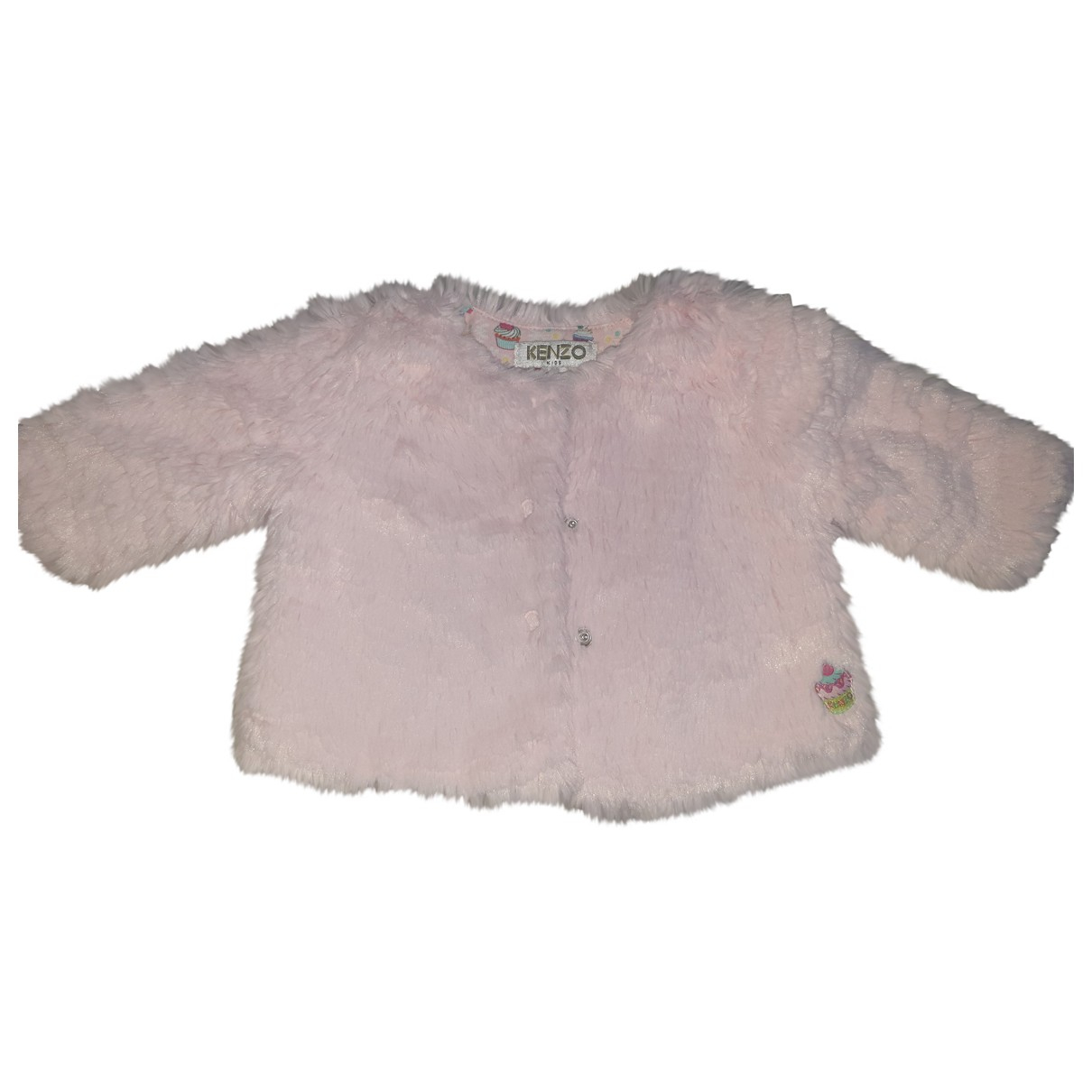 Kenzo \N Pink Faux fur jacket & coat for Kids 1 months - up to 55cm FR