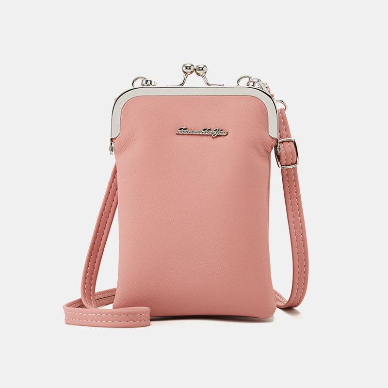 Women Multifunctional 6.3 Inch Phone Bag Crossbody Bag