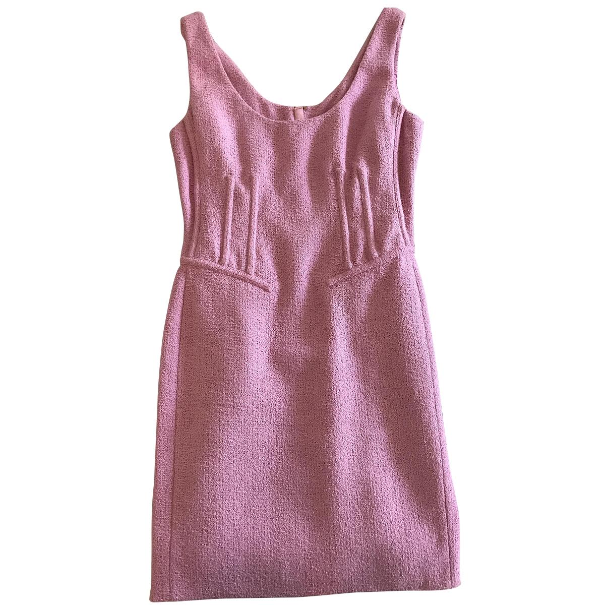 Mini vestido Tweed Moschino