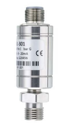 RS PRO Pressure Sensor, 75psi Max Pressure Reading Analogue