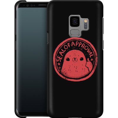 Samsung Galaxy S9 Smartphone Huelle - Seal of Approval von Louis Ros