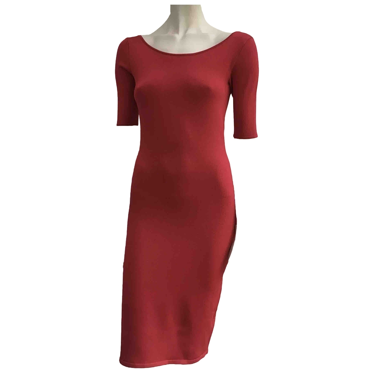 Ralph Lauren \N Red Silk dress for Women S International