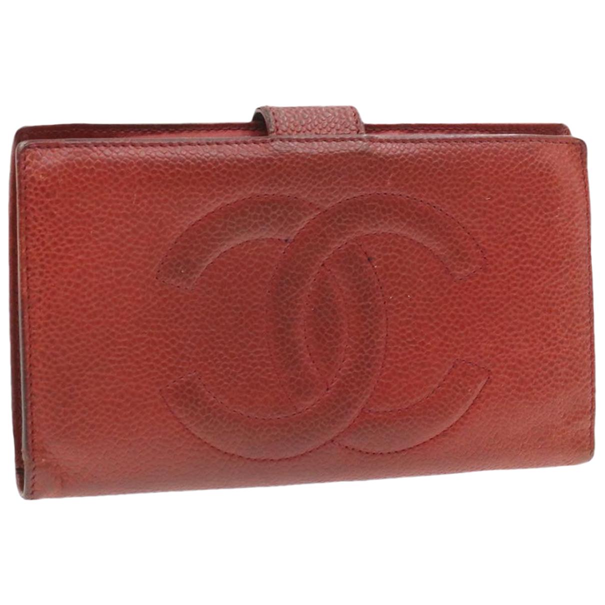 Chanel - Foulard   pour femme en autre - rouge
