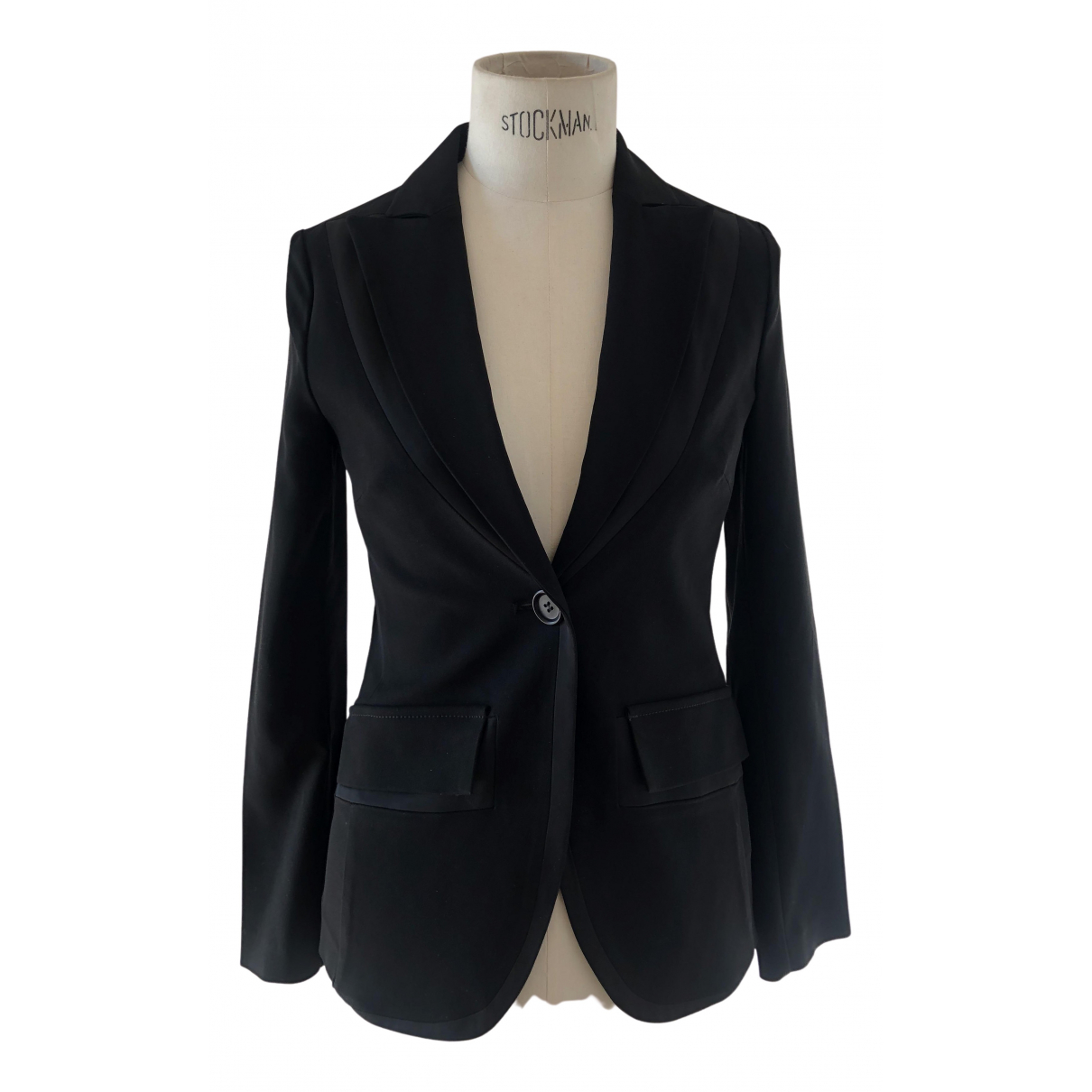 Non Signé / Unsigned N Black jacket for Women 40 IT