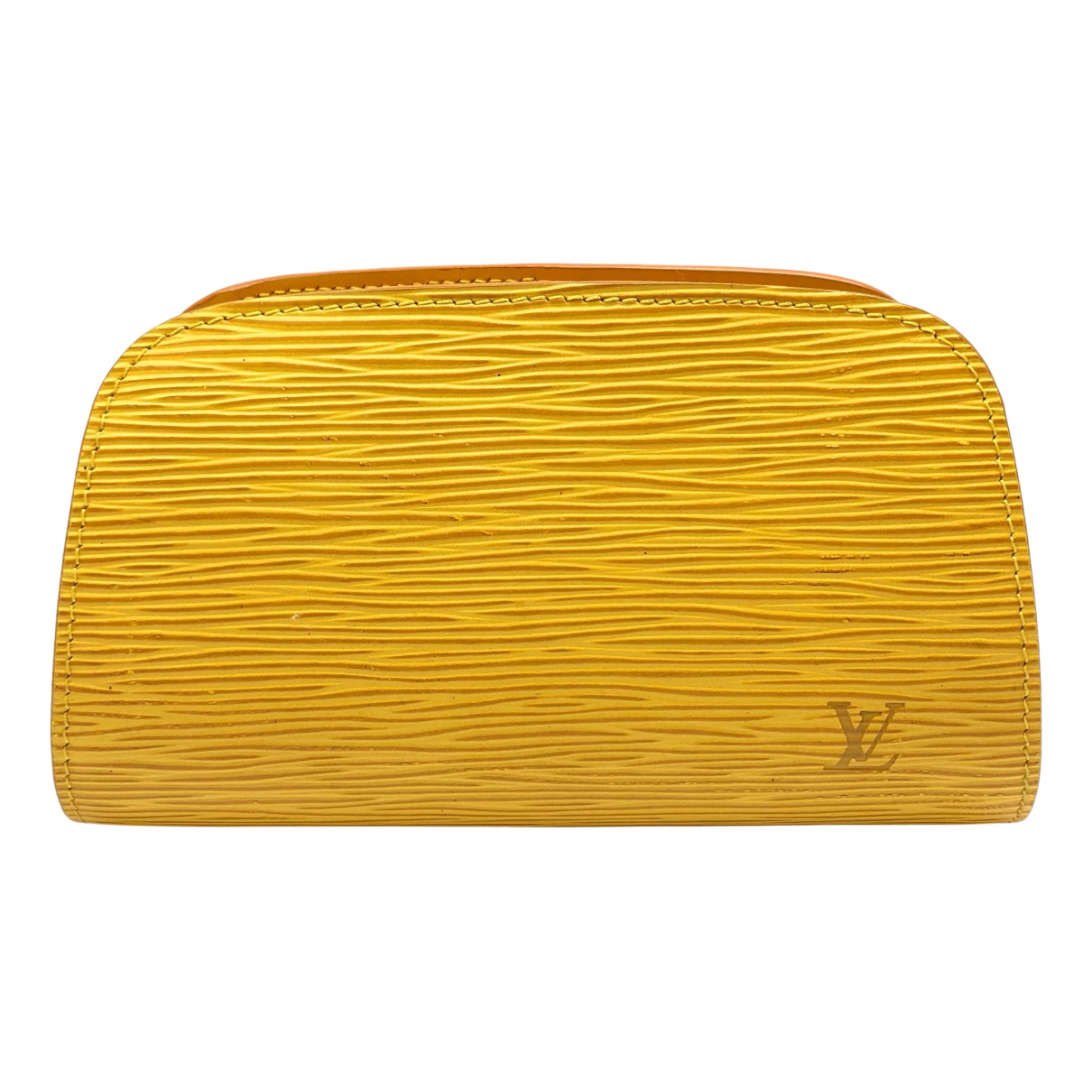 Louis Vuitton N Yellow Leather Travel bag for Women N